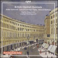 British Clarinet Quintets - Leipziger Streichquartett; Stephan Siegenthaler (clarinet)