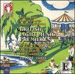 British Light Music Premieres, Vol. 3