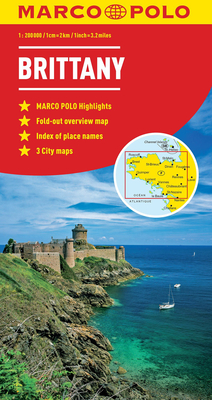Brittany Marco Polo Map -