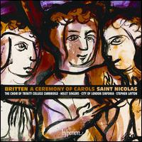 Britten: A Ceremony of Carols - Allan Clayton (tenor); Catherine Edwards (piano); Jeremy Cole (organ); Jonathan Higgins (piano); Katherine Watson (soprano);...