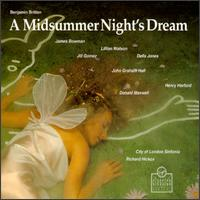 Britten: A Midsummer Night's Dream - Adrian Thompson (vocals); Andrew Gallacher (vocals); Andrew Mead (vocals); Della Jones (vocals); Dexter Fletcher (vocals);...