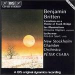 Britten: Variations on a Theme of Frank Bridge/Les Illuminations/Lachrymae