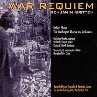 Britten: War Requiem - Christine Goerke (soprano); Richard Clement (tenor); Richard Stilwell (baritone); Maryland Boy Choir (choir, chorus);...