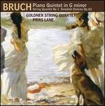 Bruch: Piano Quintet in G minor; String Quartet No. 1; Swedish Dances, Op. 63
