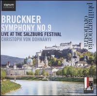 Bruckner: Symphony No. 9 - Philharmonia Orchestra; Christoph von Dohnányi (conductor)