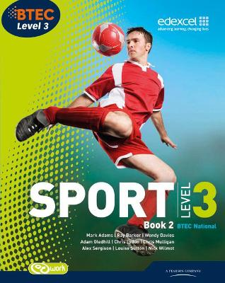 BTEC Level 3 National Sport Book 2 - Barker, Ray, and Davies, Wendy, and Lydon, Chris