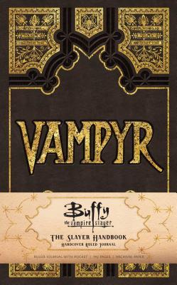 Buffy the Vampire Slayer Vampyr Hardcover Ruled Journal - Insight Editions
