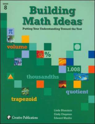 Building Math Ideas: Grade 8 Student Workbook (Set of 5) - Chapman, Cindy, and Manfree, Edward