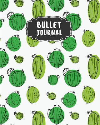 Bullet Journal: Cactus Green Dotted Journal - 150 Pages (Size 8x10) - Bullet Journal Notebook - With Bullet Journal Ideas: Bullet Journal Notebook - Thirty-Nine Bullet