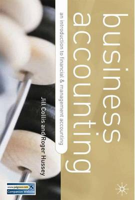 Business Accounting: Second Edition Distribution Cancelled - Collis, Jill