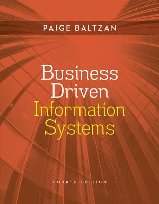 Business driven information systems book by paige baltzan 16 browse related subjects fandeluxe Images