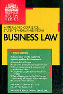 Business Law - Hardwicke, John W