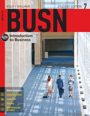 Busn (with Coursemate, 1 Term (6 Months) Printed Access Card) - Kelly, Marcella, and Williams, Chuck