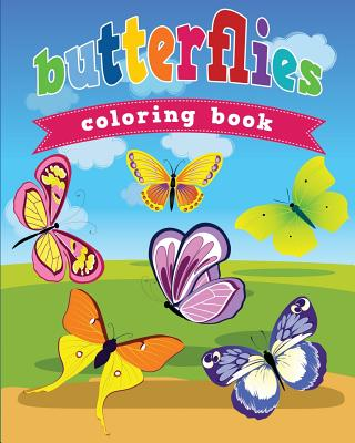 Butterflies Coloring Book - Masters, Neil