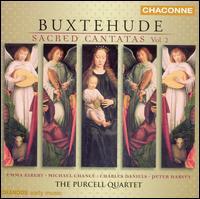 Buxtehude: Sacred Cantatas, Vol. 2 - Charles Daniels (tenor); Clare Salaman (viola); Clare Salaman (violin); Emma Kirkby (soprano); Jane Rogers (viola);...