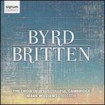 Byrd, Britten
