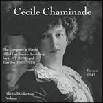 Cécile Chaminade: The Composer as Pianist