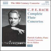 C.P.E. Bach: Complete Flute Concertos - Patrick Gallois (flute); Toronto Camerata; Kevin Mallon (conductor)