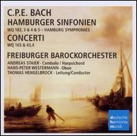 C.P.E. Bach: Hamburger Sinfonien & Concerte - Andreas Staier (harpsichord); Hans-Peter Westermann (oboe); Freiburger Barockorchester; Thomas Hengelbrock (conductor)