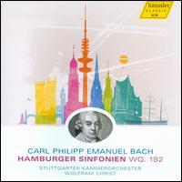 C.P.E. Bach: Hamburger Sinfonien - Stuttgart Chamber Orchestra; Wolfram Christ (conductor)