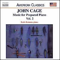 Cage: Music for Prepared Piano, Vol. 2 - Boris Berman (piano)