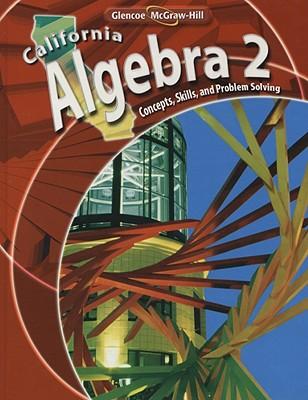 California algebra 2 concepts skills and problem solving book by california algebra 2 concepts skills and problem solving holliday berchie fandeluxe Choice Image