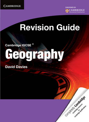 Cambridge IGCSE Geography Revision Guide Student's Book - Davies, David
