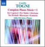 Camillo Togni: Complete Piano Music, Vol. 1