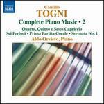 Camillo Togni: Complete Piano Music, Vol. 2