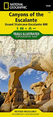 Canyons of the Escalante - Rand McNally, and National Geographic Maps (Compiled by)