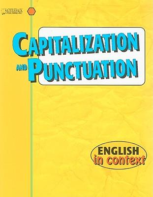 Capitalization and Punctuation - Saddleback Publishing (Creator)