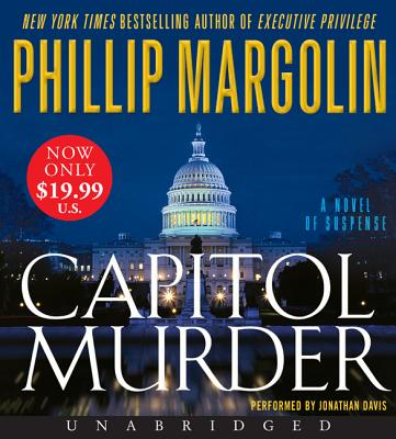 Capitol Murder Low Price CD - Margolin, Phillip, and Davis, Jonathan (Read by)