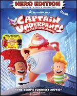 Captain Underpants: The First Epic Movie [Child's Cape Included] [Blu-ray]