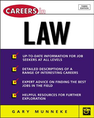 Careers in Law - Munneke, Gary