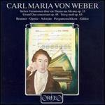 Carl Maria von Weber: Grand Duo Concertant; Variationen; Trio