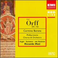 Carl Orff: Carmina Burana - Arleen Augér (soprano); Jonathan Summers (baritone); Philharmonia Chorus (choir, chorus);...