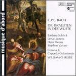 Carl Philipp Emanuel Bach: Die Israeliten in der Wuste, Wq 238 - Barbara Schlick (soprano); Cappella Coloniensis; Corona Coloniensis; Hein Meens (tenor); Lena Lootens (soprano);...