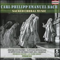 Carl Philipp Emanuel Bach: Sacred Choral Music - Andreas Karasiak (tenor); Barbara Schlick (soprano); Christoph Prégardien (tenor); Das kleine Konzert;...