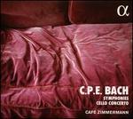 Carl Philipp Emanuel Bach: Symphonies & Concertos pour violoncelle