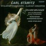 Carl Stamitz: 10 Klarinettenkonzerte - Ana Chumachenco (violin); Eduard Brunner (clarinet); Klaus Thunemann (bassoon); Robert Levin (candenza);...