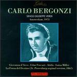 Carlo Bergonzi Sings Giuseppe Verdi, Amsterdam, 1973