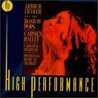 "Carmen Ballet, Carnaval Overture, Incidental Music to ""Hamlet"" - Boston Pops Orchestra; Arthur Fiedler (conductor)"