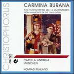 Carmina Burana from 13th Century Manuscripts