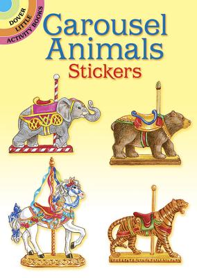 Carousel Animals Stickers - Johnson, Judy, and Stickers