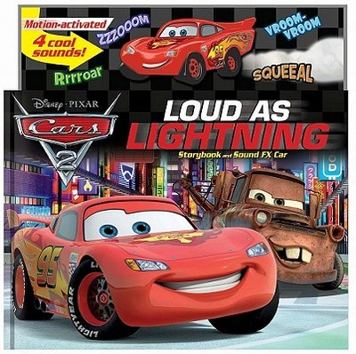 Cars 2: Loud as Lightning!: Storybook and Sound FX Car - Stierle, Cynthia