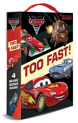 Cars 2: Too Fast! Boxed Set - Rh Disney