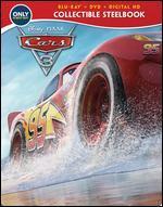 Cars 3 [SteelBook] [Includes Digital Copy] [Blu-ray/DVD] [Only @ Best Buy]