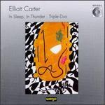 Carter: In Sleep, In Thunder; Triple Due