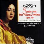 Cazzati: Trio Sonatas From Opus XVIII