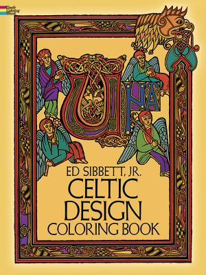 Celtic Design Coloring Book Book By Ed Sibbett